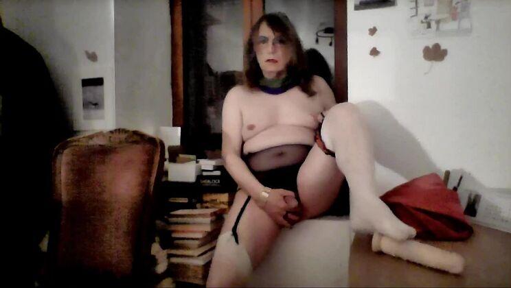 Dazzling flat chested ladyboy slut in kinky porn video