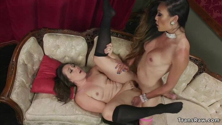 Adorable tgirl Venus Lux in amazing lingerie video