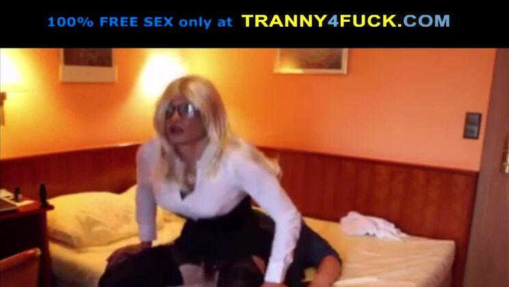 Pretty mature embodies her fetish dream